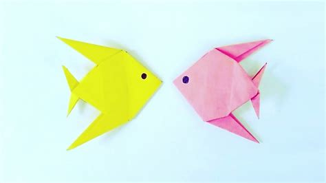 Simple Origami Fish - origami fish easy steps origami fish easy