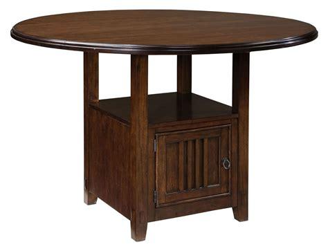 sonoma warm medium oak  drop leaf counter dining room