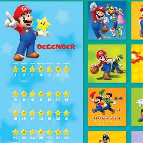 super mario bros calendar