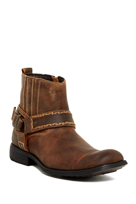 bed boots bed stu innovator boot in brown for men tan lyst