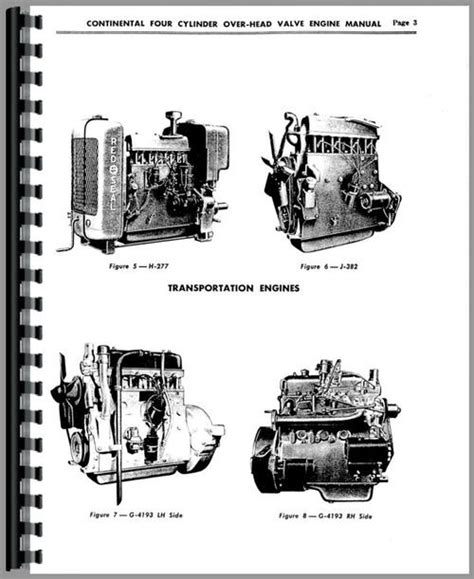 Continental Engines G 193 Engine Service Manual