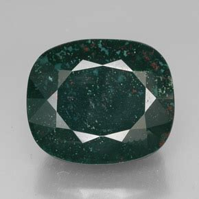 19 58 Ct Ruby bloodstone 41 6 carat cushion from madagascar and