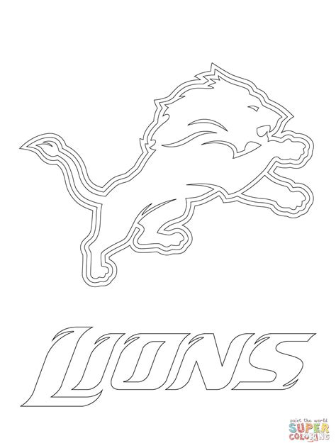 denver broncos logo free coloring pages art coloring pages