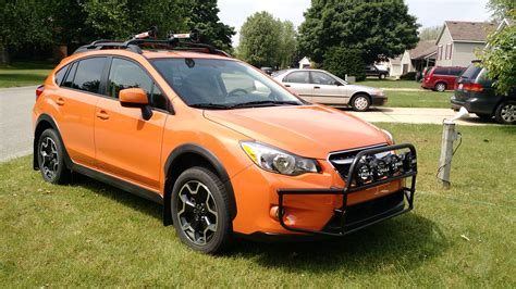 subaru crosstrek grill guard been lurking for a year now it s about my xv