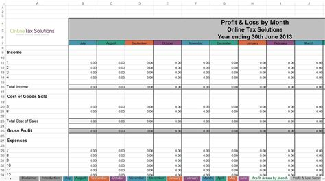 Self Employed Spreadsheet by Self Employed Spreadsheet Template Laobingkaisuo