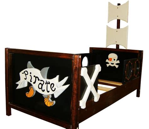 image wooden pirate ship bed wooden pirate ship toddler boat bed with acrylic porthole windows