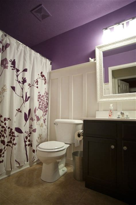 plum colored bathroom accessories 33 cool purple bathroom design ideas digsdigs