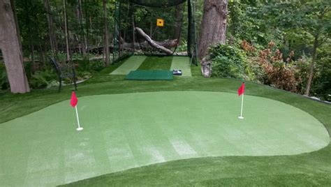 how to build a backyard putting green synthetic putting green archives greenland turf