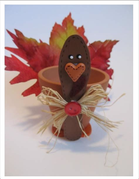 Papercraft Turkey - thankful for you on