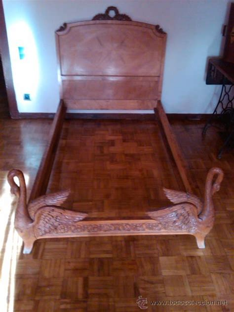 camas antiguas de madera antigua cama modelo cisnes tallada en madera m comprar