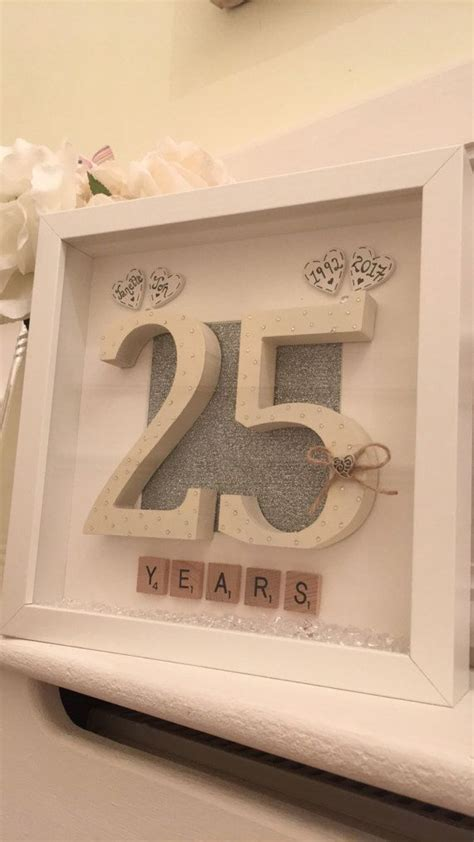 Handmade 50th Anniversary Gifts - best 25 25th anniversary gifts ideas on 40th