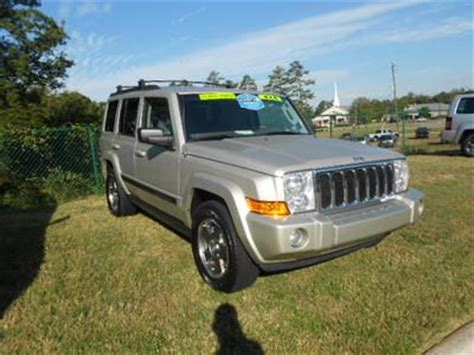 08 Jeep Commander Sell Used 08 Jeep Commander 4x4 3 7l V 6 Silver Leather