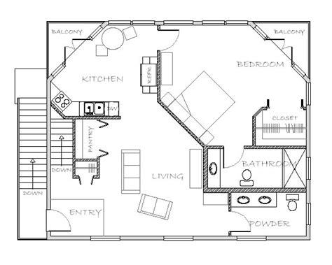 floor plans with inlaw apartment in apartment plan