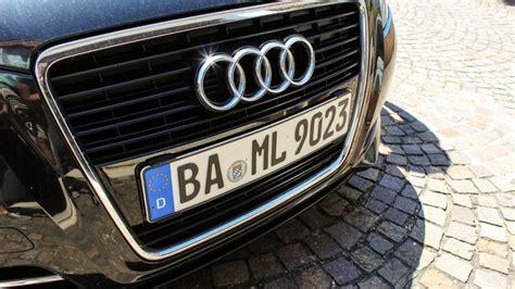 Kennzeichenhalter Audi Vorsprung Durch Technik by Neue 3d Kennzeichen Auf Dem Markt Autoirrtum De