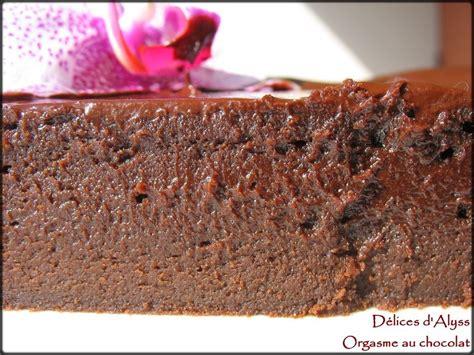 orgasme au chocolat fondant recette