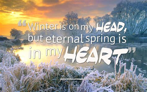 winter and quotes 30 magnificent winter quotes of all time