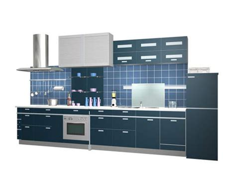 kitchen cabinets free 3d model