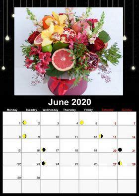 lunar calendar  photo calendar creator
