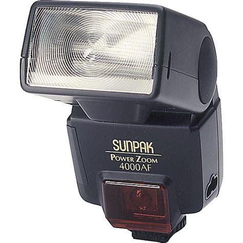 Flashes Sunpak sunpak pz 4000af ttl flash for nikon cameras black 040n b h