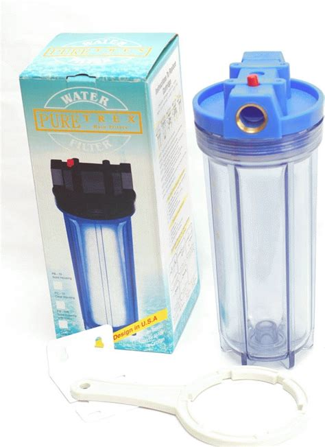 Housing 10 Clear Drat 3 4 Wl10 jual filter air water filter housing 10 quot puretrex modjo13