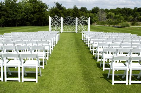 outdoor wedding ceremony setup sydney stunning ceremonies cowboys golf club weddings events