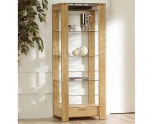 Display Cabinet Norwich Solid Oak Display Cabinet Oak Cabinets Quality Oak