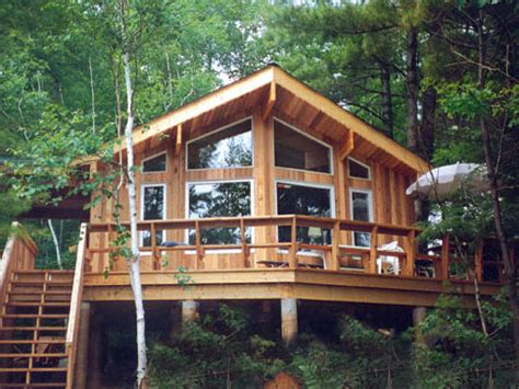Small Post And Beam Cabins Post And Beam Cabin Plans Small House Plans Ontario Canada