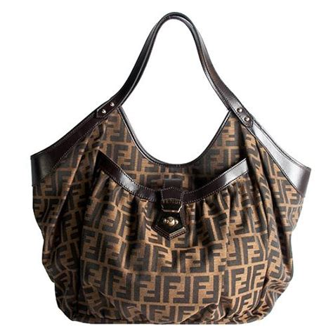 Fendi Large Quilted Chef Purse by Fendi Zucca Chef Large Tote