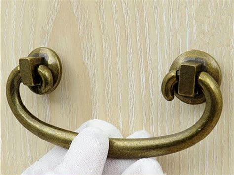 Furniture Pulls And Handles 3 Drawer Pulls Handles Dresser Pull Bail Antique Bronze