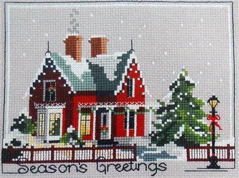 House Number Of Seasons Vintage Judith Kirby S Victorians Season S Greetings House
