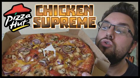 chicken supreme pizza hut chicken supreme review