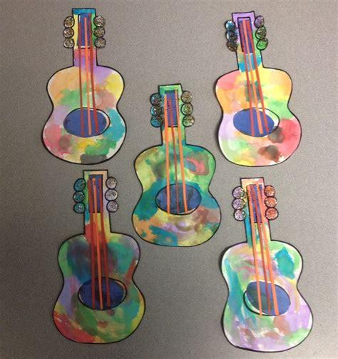 guitar craft for preschool crafts around the world week america