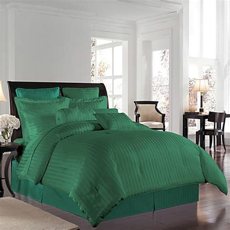 hunter green twin comforter buy wamsutta 174 500 damask twin comforter set in hunter from