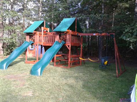 sequoia swing set playset gallery swing set assembly installation ma ct