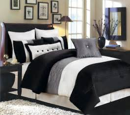 Comforter Sets Black And White Most Beautiful Black And White Bedding Sets The Comfortables