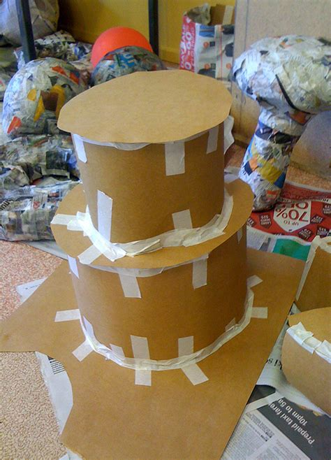 How To Make Paper Mache Food - papier mache on paper mache paper clay and