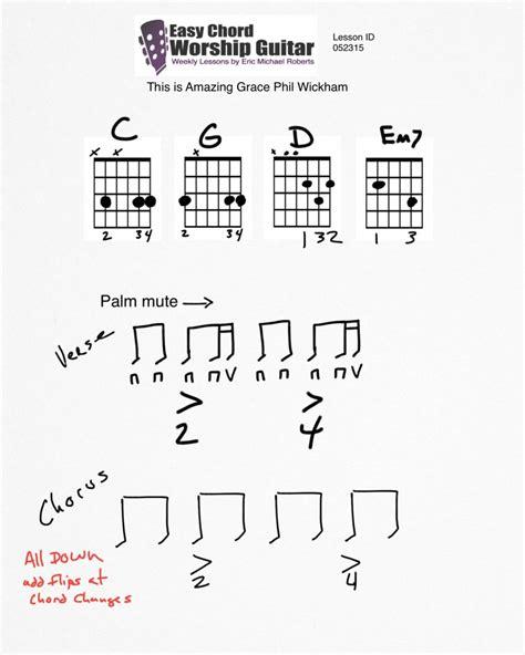 Phil Wickham Guitar Chords