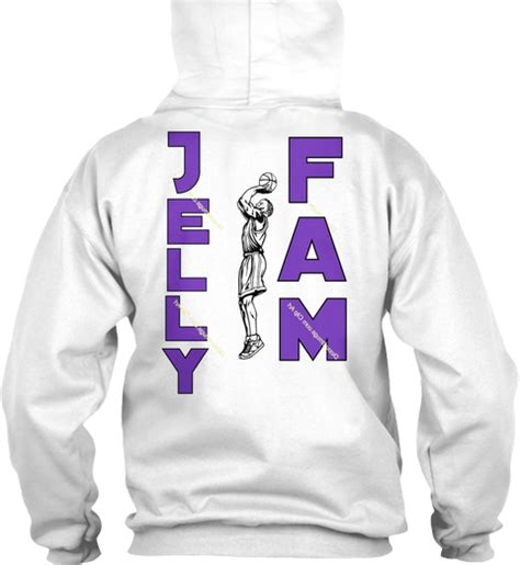 Sweater Basketball Never Stop Replika jelly fam apparel just jelly products teespring