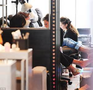 coco young nail salon tamara ecclestone s husband jay rutland tags along on
