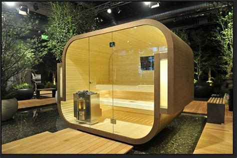 outdoor steam room 17 sauna and steam shower designs to improve your home and