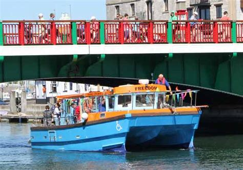 weymouth harbour boat trips m v freedom the friends of m v freedom