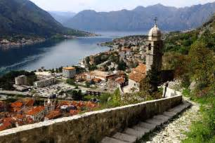 The unbeatable view across the bay from the hills above kotor image