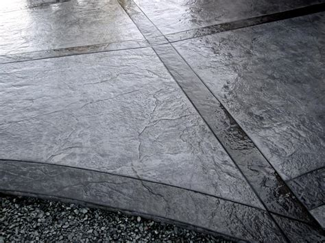 grey patterned concrete sted texture concrete patio gray with black grey