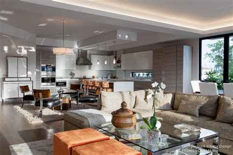 Georgie Interior Design by Canalside Condo In Fort Lauderdale Florida By Georgie Stark