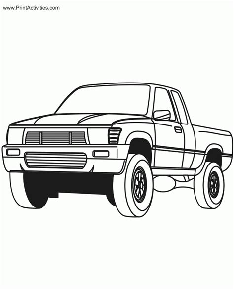 dodge truck coloring pages az coloring pages