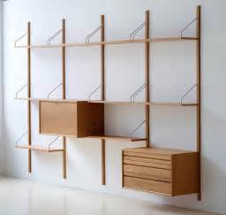 modern shelves royal system shelving designed by poul cadovius in 1948