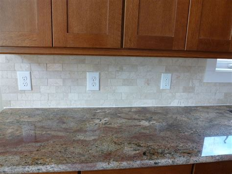 kitchen with tile backsplash bob and flora s new house