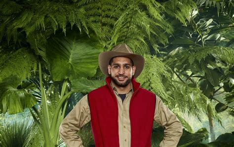 celebrity jungle meal ticket amir khan flounders in first jungle challenge the irish news