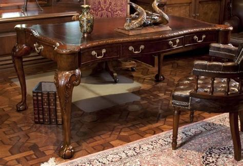 maitland smith desk prices maitland smith chippendale style partners desk current