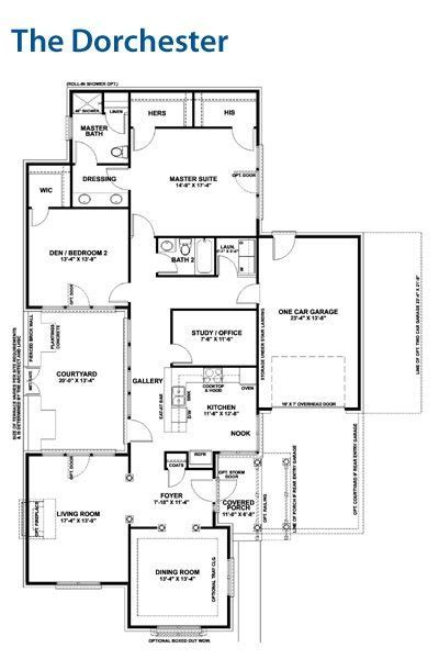 luxury floor plans for patio homes new home plans design